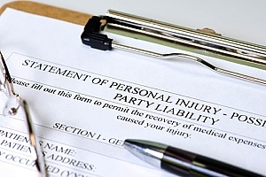 a personal injury claim that an individual is filing with the help of an attorney