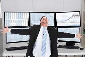 Get rich quick scheme scammer pretending to be a stock expert