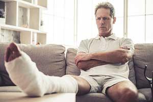 Injured man wondering how much is my personal injury case worth