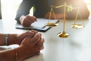 Attorney drafting racial discrimination complaint