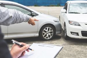 Filing report for car accident claim
