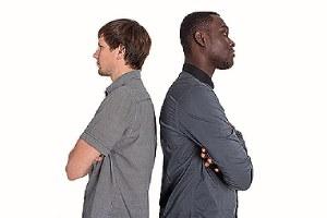 Image depicting racial discrimination. The process of filing a racial discrimination lawsuit involves several steps
